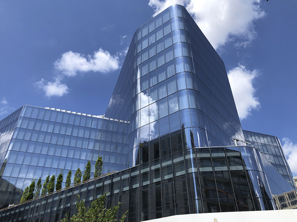 City Center Conrad Hotel Washington DC Curved Insulated Glass Units