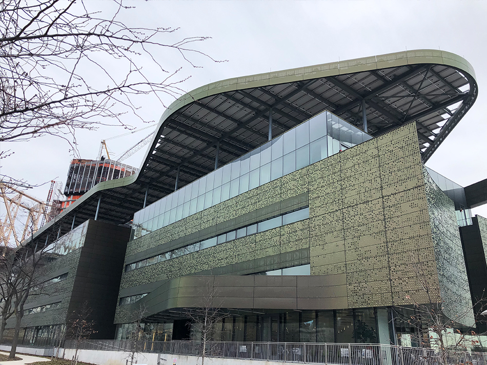 Cornell Tech Bloomberg Center NY Curved Insulated Glass Units