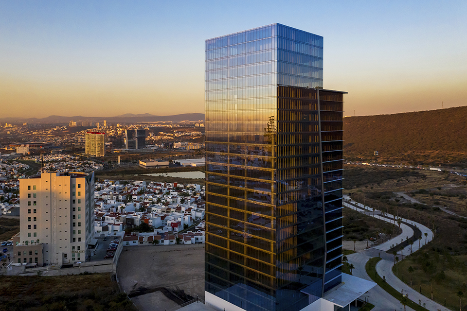 High Park Queretaro insulated glass units solar control
