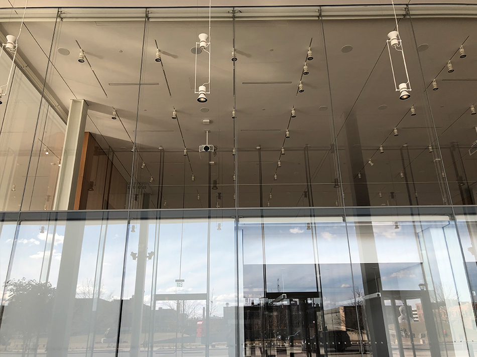 Krause Gateway Center glass interiors