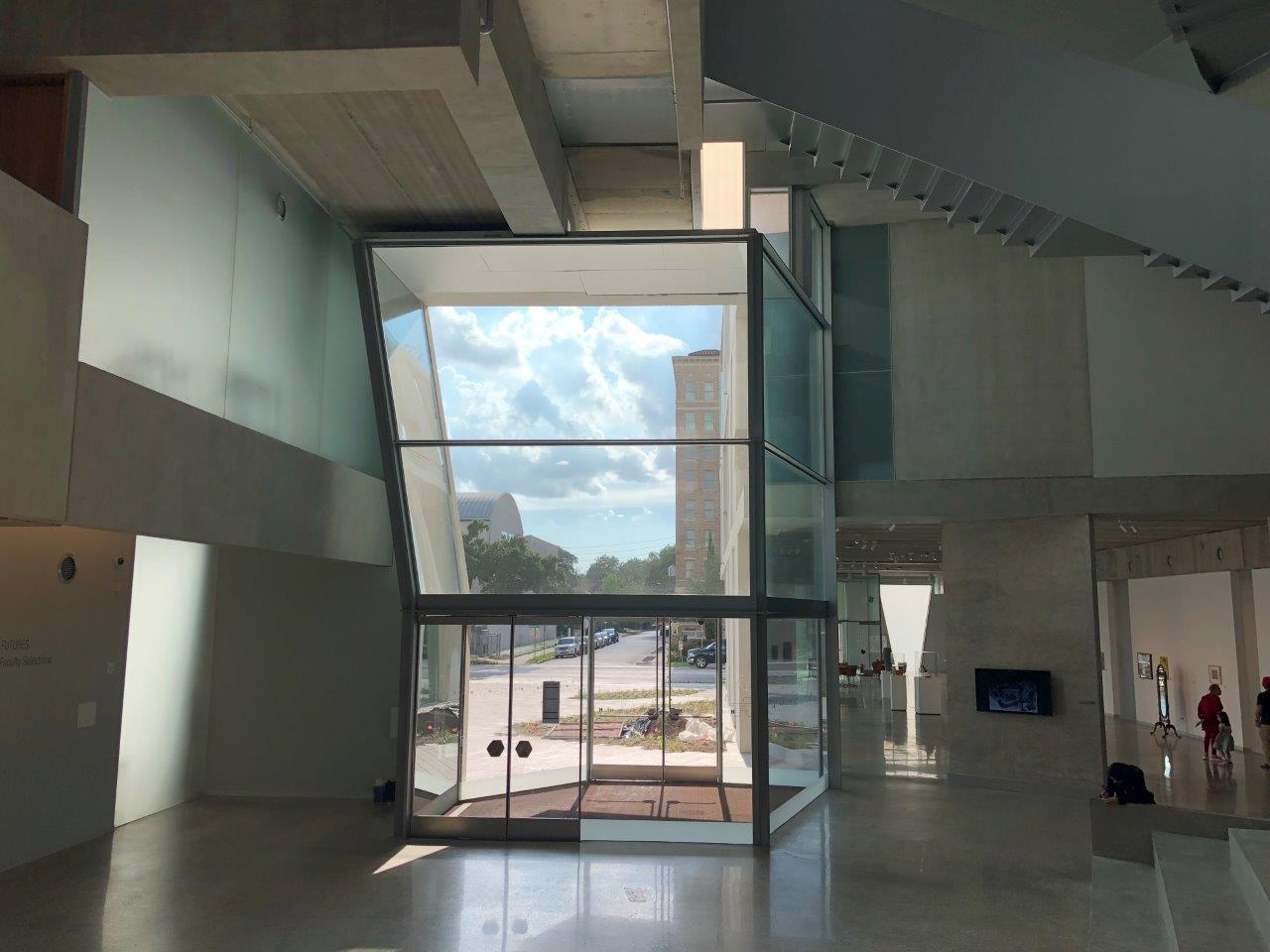 Glassell School at MoFAH special shape insulated glass units Houston